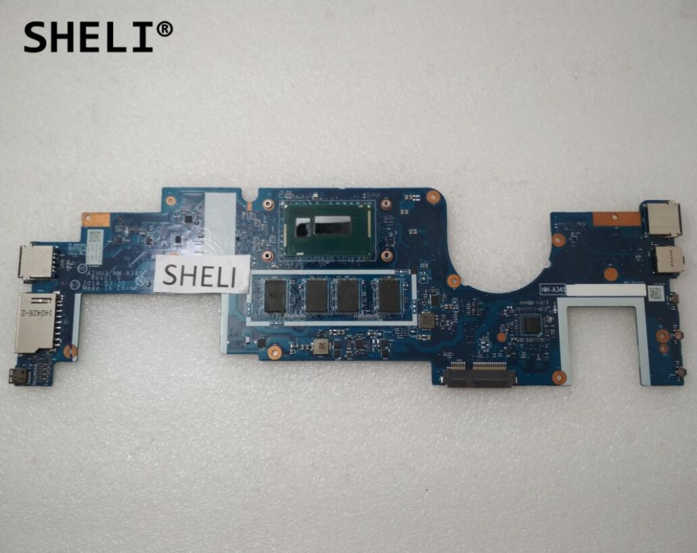 SHELI For Lenovo Yoga 2 11 Motherboard with I5-4202Y CPU 2G NM-A341