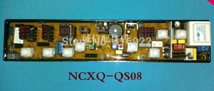 Free shipping 100% tested for kangjia washing machine Computer board control board XQB60-618 NCXQ-QS08  motherboard on sale free shipping 100% tested for washing machine board konka xqb60 6028 xqb55 598 original motherboard ncxq qs01 3 on sale