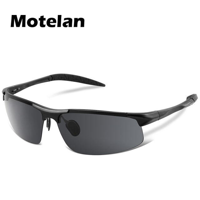 2017 Men's Polarized Sunglasses Aluminum Magnesium Frame Car Driving Sun Glasses 100% UV400 Polarised Goggle Style Eyewear