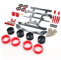 1 Set S2 Chassis Modify Part For Tamiya Mini 4WD Racing Car Model Upgrade Spare Part Kit