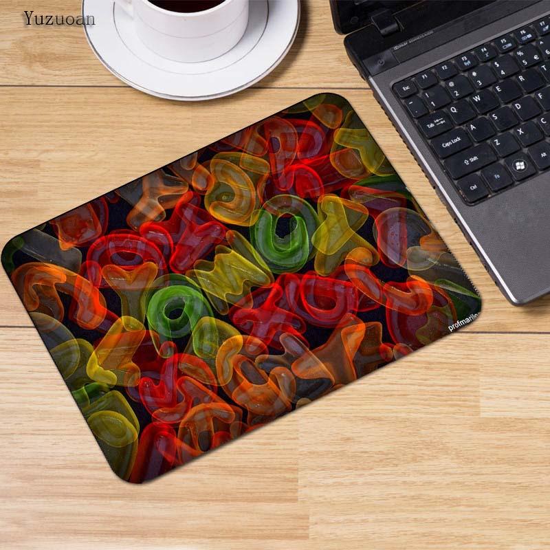 Large Multi-color Optional Gaming Mouse Pad Rubber Anti-slip Desk Mat Mouse fg