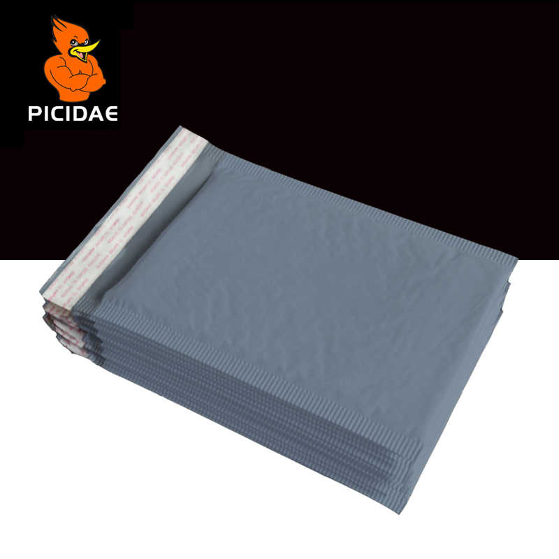 Bubble Buffer Fill envelope Poly Mailing Bags Anti impact waterproof Packing Logistics Courier protection book clothing gray