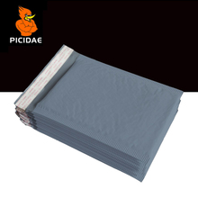 Bubble Buffer Fill envelope Poly Mailing Bags Anti impact waterproof Packing Logistics Courier protection book clothing gray цена и фото