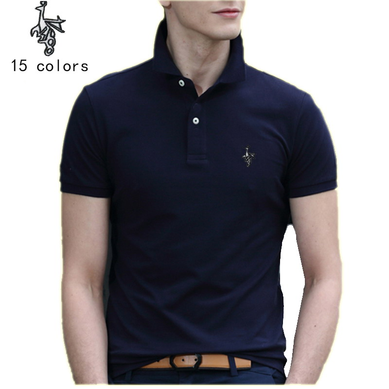 BrandNew Men 39 s Polo Shirt Men Cotton Short Sleeve shirt jerseys men All Sizes Slim Fit Cotton Very Saints Style in Polo from Men 39 s Clothing