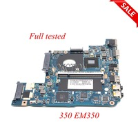 NOKOTION Laptop Motherboard for Acer EMACHINES 350 EM350 MBNAH02001 Main board MB.NAH02.001 NAV51 LA 6311P tested