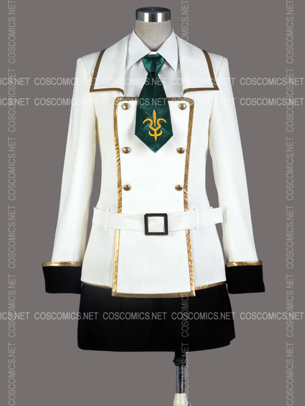 Hot Sale Cheap CC Cosplay costume (School Uniform) from Code Geass Anime Clothing Christmas