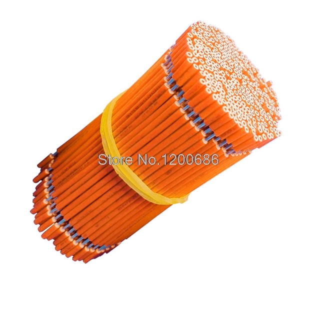 US $2.8 |40CM 5mm half strip off UL1571#28AWG 7/0.12TS Orange 20piece/lot Orange Wire On Wiring Harness on wire harness repair, wire harness assembly, wire harness connectors, wire harness tubing, wire harness fasteners, wire harness testing,