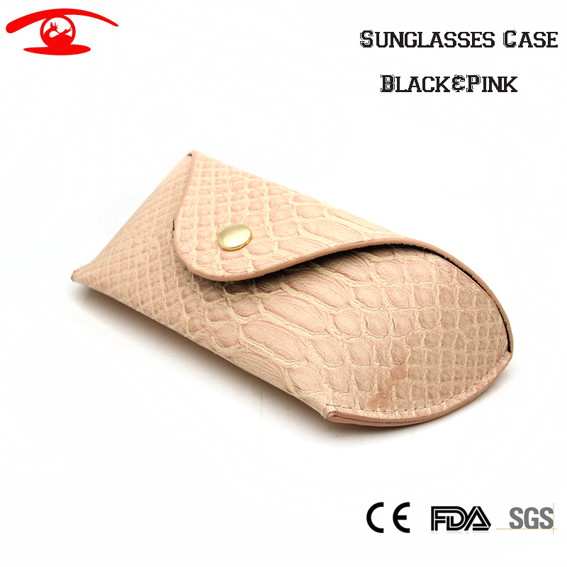 New Fashion Spectacle Case Women Men Sunglasses Box Tassen Eyewear Case Leather Eyewear Acessary