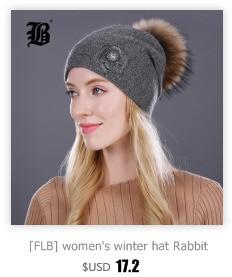 [FLB] Wholesale Real Mink Fur Pom Poms Knitted Hat Ball Beanies Winter Hat For Women Girl 'S Wool Hat Cotton Skullies Female Cap 72