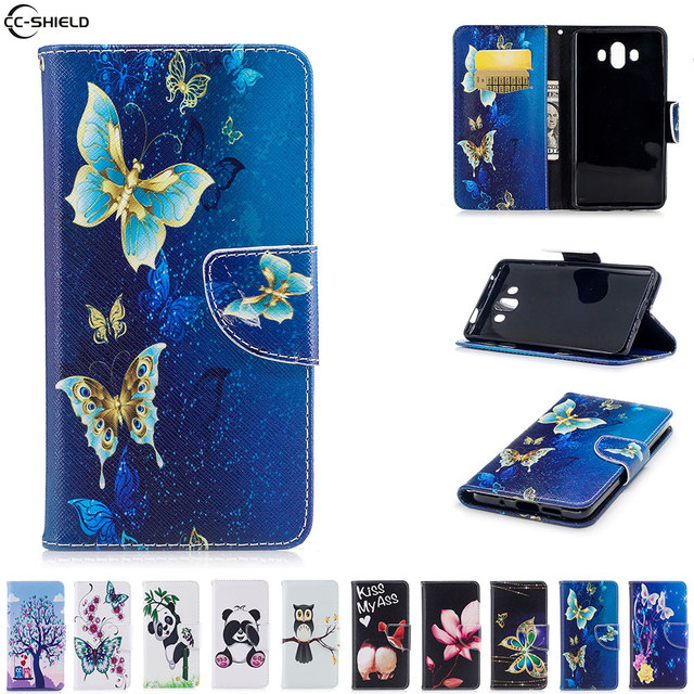 Flip Case For Huawei Mate 10 Mate10 Case Phone Leather Cover For Huawei Alps ALP-TL00 ALP-L09 ALP-AL00 ALP-L29 ALP L29 L09 bag