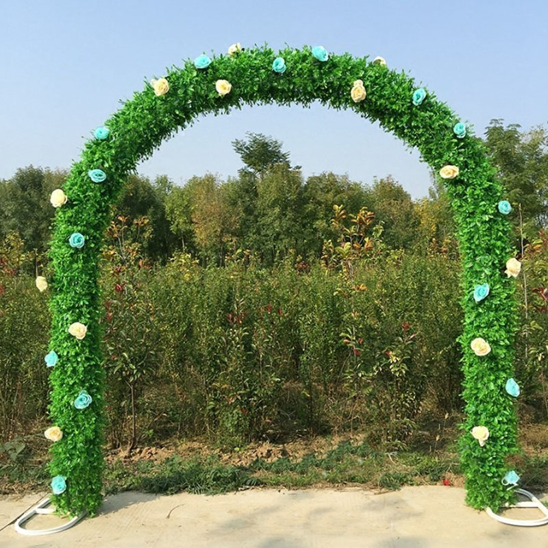 Bridal Arch Frame Background Decoration Cherry Blossom Arch Flower Stand Door Wedding Party Decoration Props in Wedding Arches from Home Garden