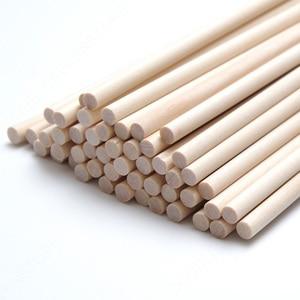 40cm de madeira redonda picolé vara crianças mão artesanato arte sorvete lolly bolo diy fazendo engraçado ferramentas quentes