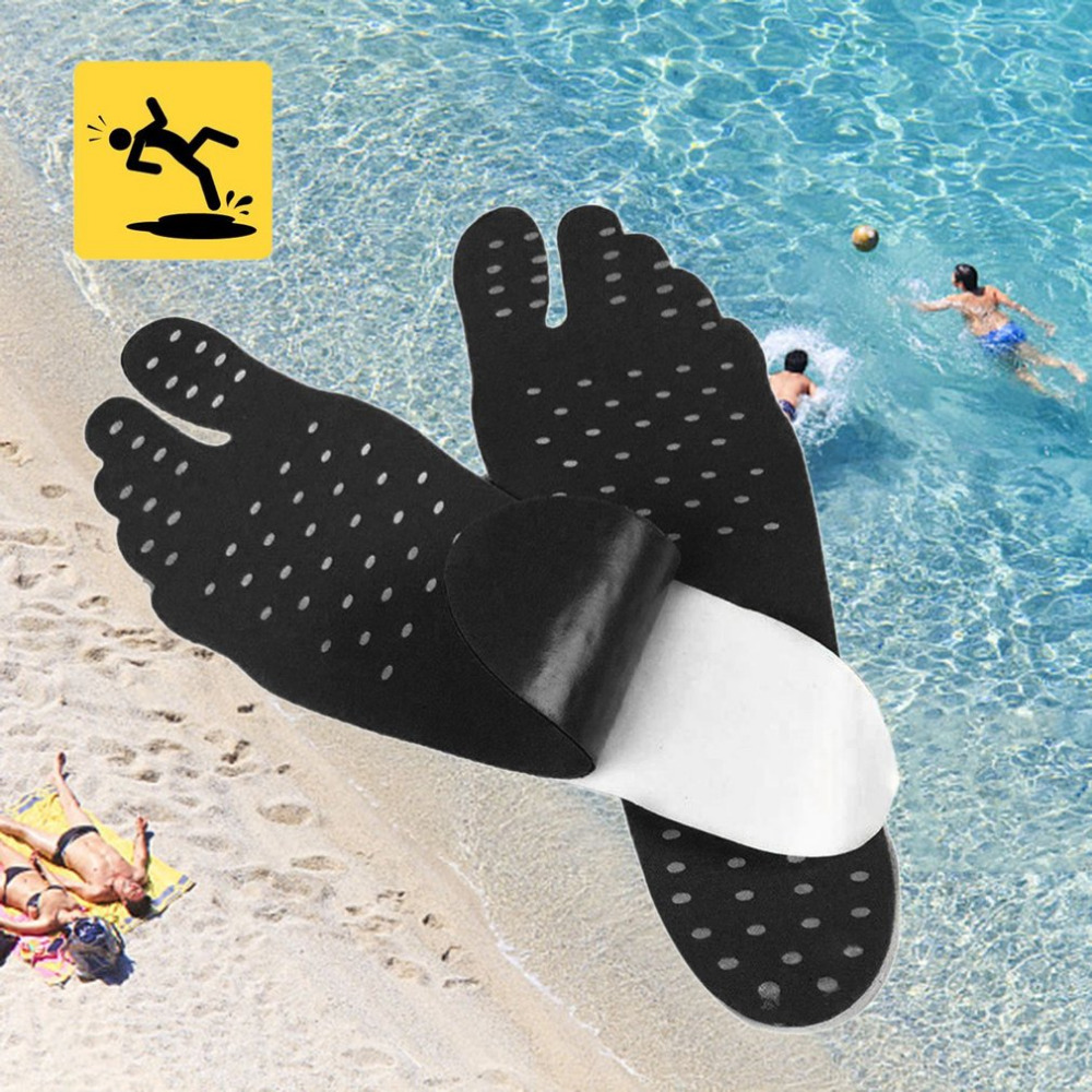 Adhesive Feet Pad Stick on naked feet On Anti-Slip Soles stick on soles pads fit