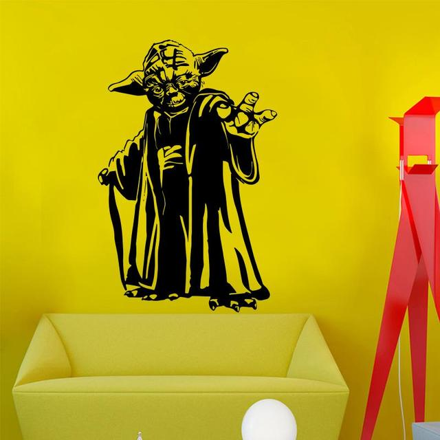 New design Master Yoda wall sticker home decor Movie vinyl art house ...