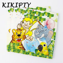 Jungle Lion king theme Party paper napkin/plate/cup baby shower birthday party decoration kids boy favor tableware supplies(China)