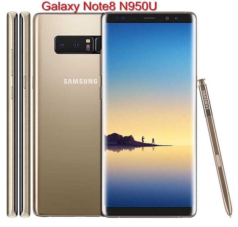 Samsung Galaxy Note8 Примечание 8 N950U оригинальный разблокирована LTE Android телефона Octa Core 63 двойной 12MP 6G Оперативная память 64G Встроенная память Snapdragon 835 купить на AliExpress