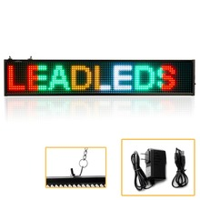 82CM SMD P5mm LED Display module yellow blue green white Programmable Scrolling Message led sign Board High Quality