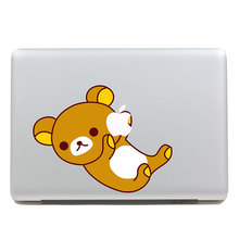 Removable DIY waterproof colors funny Rilakkuma tablet sticker and laptop computer sticker for laptop,170*270mm
