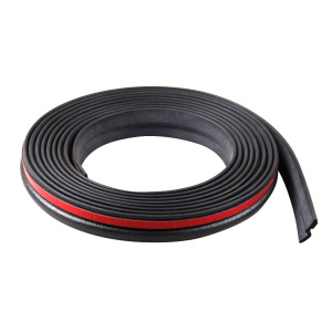 Image 5 - 8M Z Type Car Rubber Seal Sound Insulation Filler Adhesive Door Weatherstrip Rubber Seals Trim High Density Seal Strip