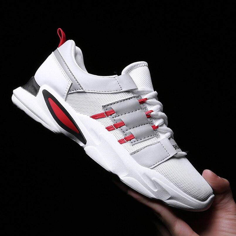 FIDANEI Hot Sale New Original Men Sport Shoes Lace Up Shoes Male Outdoor Sneakers Men Mesh Breathable Vulcanized Shoes