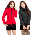 2016 New Fashion Winter Women Slim Cotton-Padded Jacket Women Slim Thick Plus Size Short Coat Women