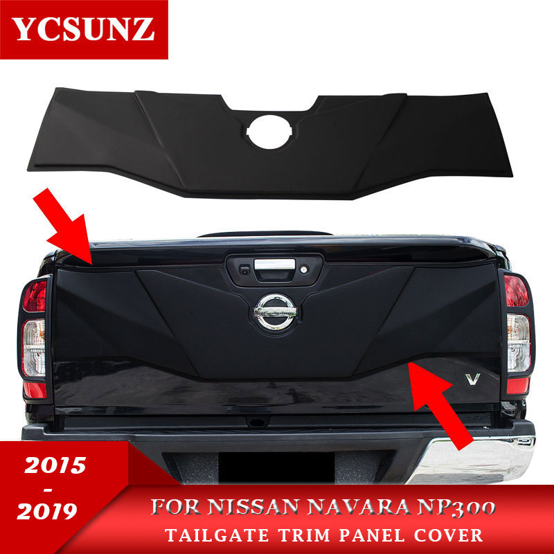 Genuine Front Emblem Logo Decal Bumber For Nissan Navara Np300 D23 2015 2016 17