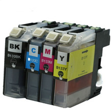 8x LC133 LC-133 LC133XL LC-133XL Ink Cartridges For Brother DCP-J152W DCP-J172W DCP-J4110DW DCP-J552DW DCP-J752DW Inkjet Printer
