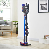TTLIFE Fitting Organizer for Dyson Portable Vacuum Cleaner Stand Floor Stand Stable Metal Compatible Hand Vacuum Storage Bracket