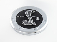 Auto Chrome Black Shelby GT500 SVT For Mustang Trunk DECK LID Panel Emblem Badge Sticker