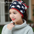 Spring New Arrival 13 Styles Star Women's Hats Adjustable Size Beanie Girls Skullies Winter Hats For Women Autumn Thin Hat