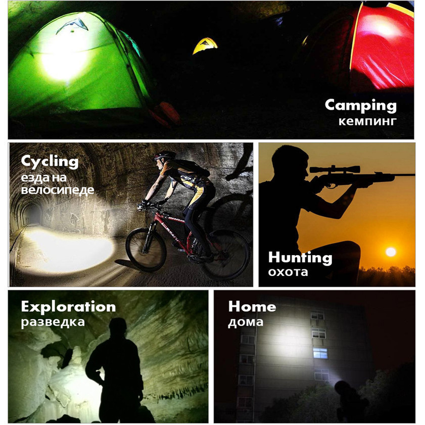 Multifunction Portable CREE XPE-R3 COB Lamp Work Light Flashlight Torch Tool