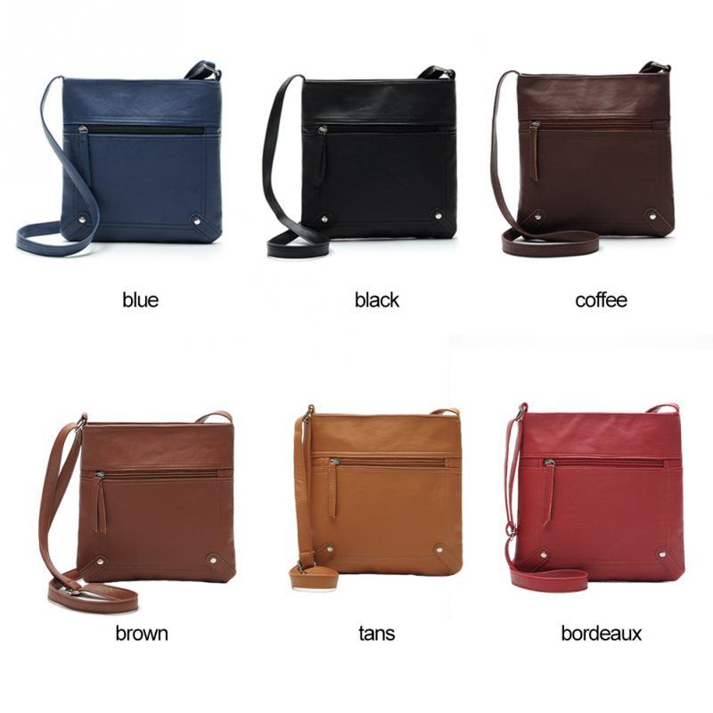2016 Neue Beiläufige Designer Marke Frauen Lederhandtaschen Solid Eimer Umhängetaschen Solide Zipper Messenger Bags Der Preis Bleibt Stabil