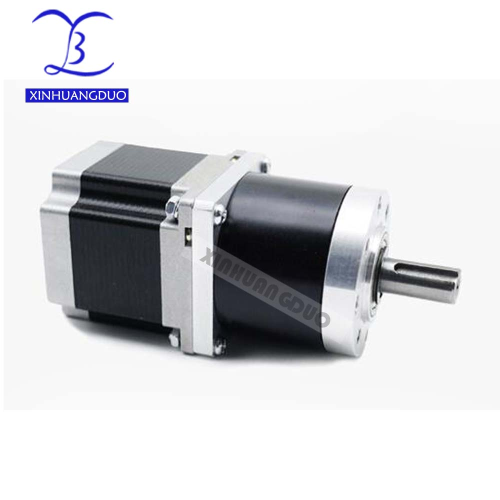 57 motor 56mm Gear ratio 13 1 15 1 18 1 Planetary Gearbox stepper motor Nema 23 4A Geared Stepper Motor 3d printer stepper motor in Stepper Motor from Home Improvement
