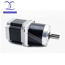 цена на 57 motor 56mm Gear ratio 13:1 15:1 18:1 Planetary Gearbox stepper motor Nema 23 4A Geared Stepper Motor 3d printer stepper motor