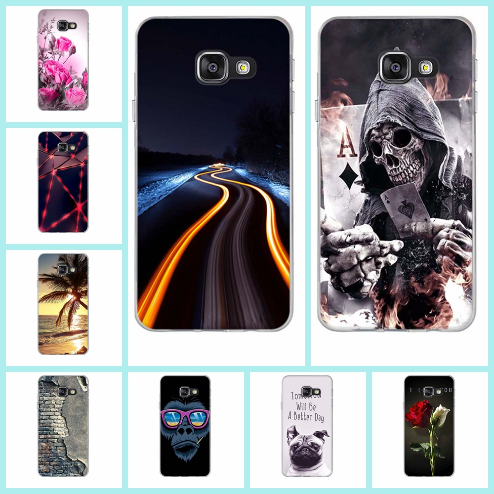 Back Cover Soft Capa For Samsung Galaxy A3 2016 A310 Phone Case Silicone Tpu Coque For Galaxy A3 2016 Capa Fundas Skin