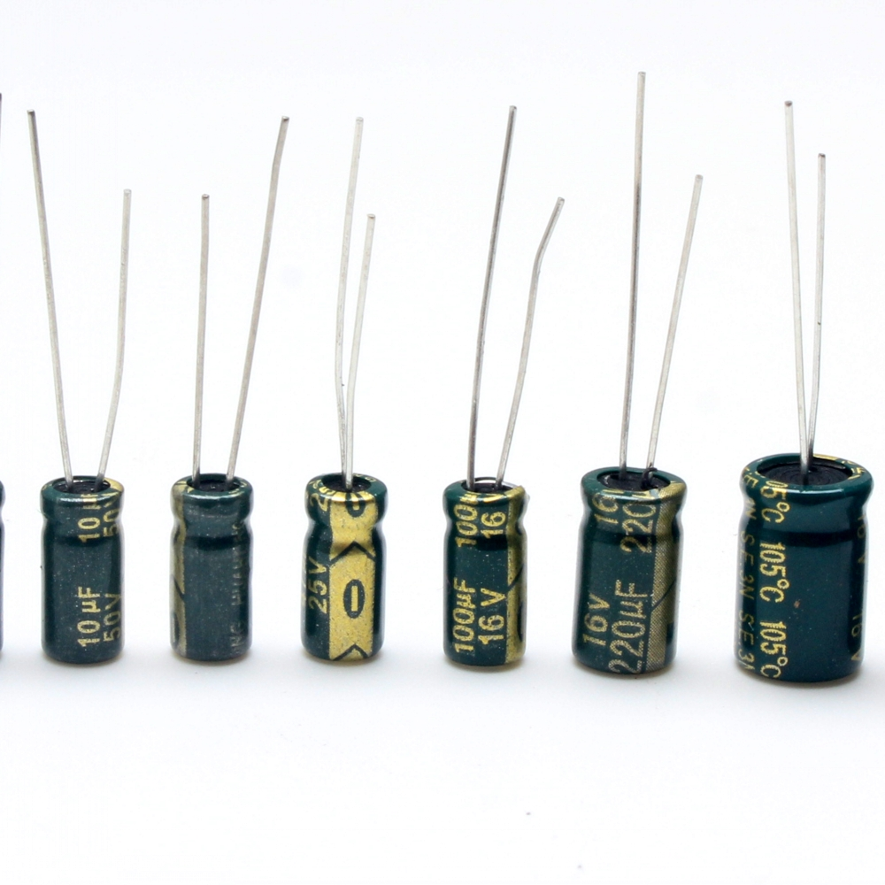 Electrolytic Capacitor 10uF 22uF 47uF 100uF 220uF 330uF 470uF 50V (Pack Of 20)