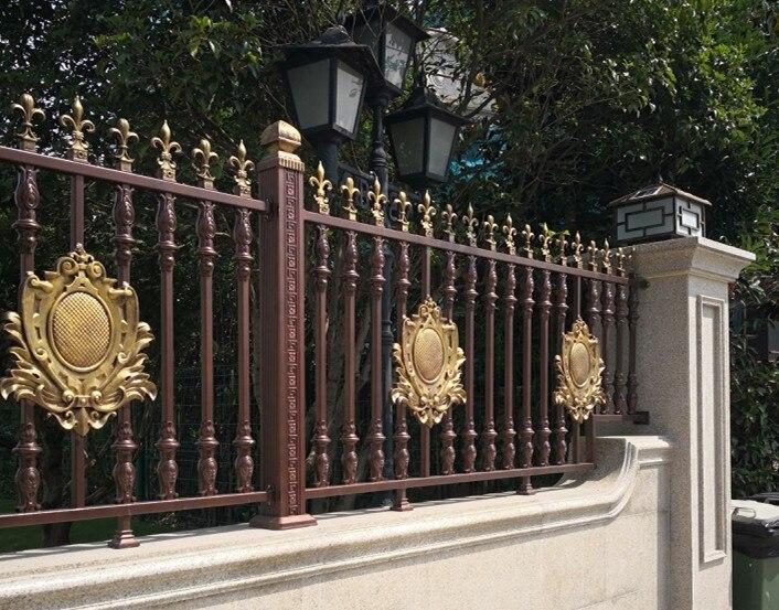 Aluminium Fence Panels For Garden Fencing, Aluminium Swimming Pool Fencing Designs Hc-af2