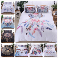 Creative 3D Pattern Duvet Cover Quilt Comforter Pillow Case Bed Linen Adult Queen King Couple Big Size Bedspread 260x230 228x228