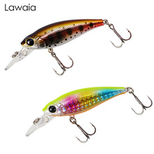 Lawaia Fishing Lures Floating Water Minor 58mm/5g Sound Steel Ball Road Asia Hard Bait Carp Cockerel Mouth Eyes For Crankbaits