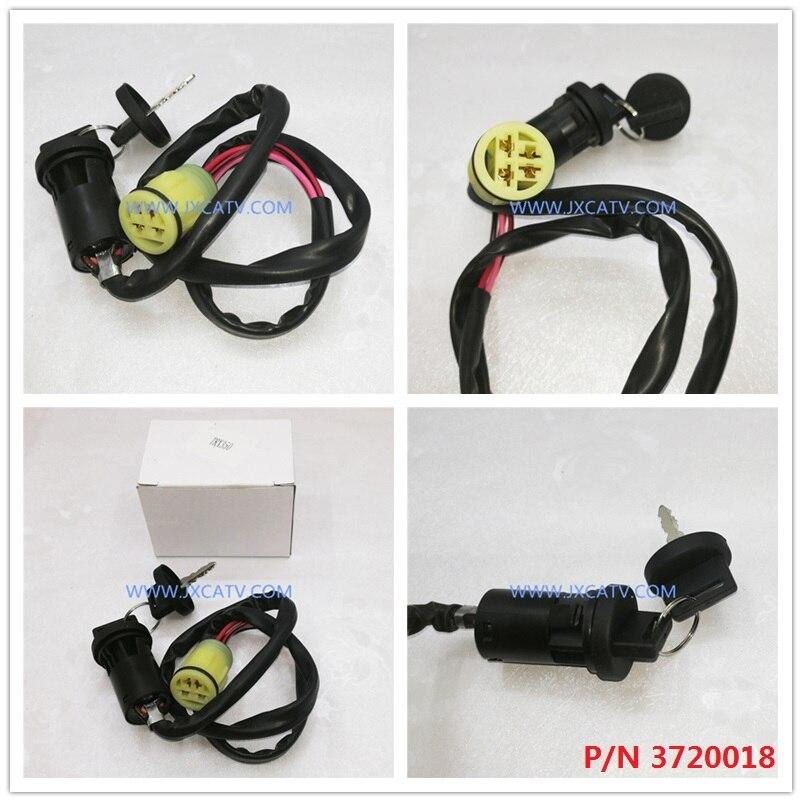 New 2002-2004 Honda TRX 450 TRX450 Foreman ATV OE Ignition Switch With Keys