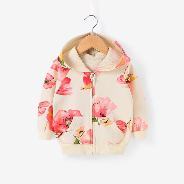 Meninas as 2016 crianças primavera e outono casaco cardigan 0 - 2 anos de idade do bebê roupas de bebê meninas primavera 100% casaco de algodão