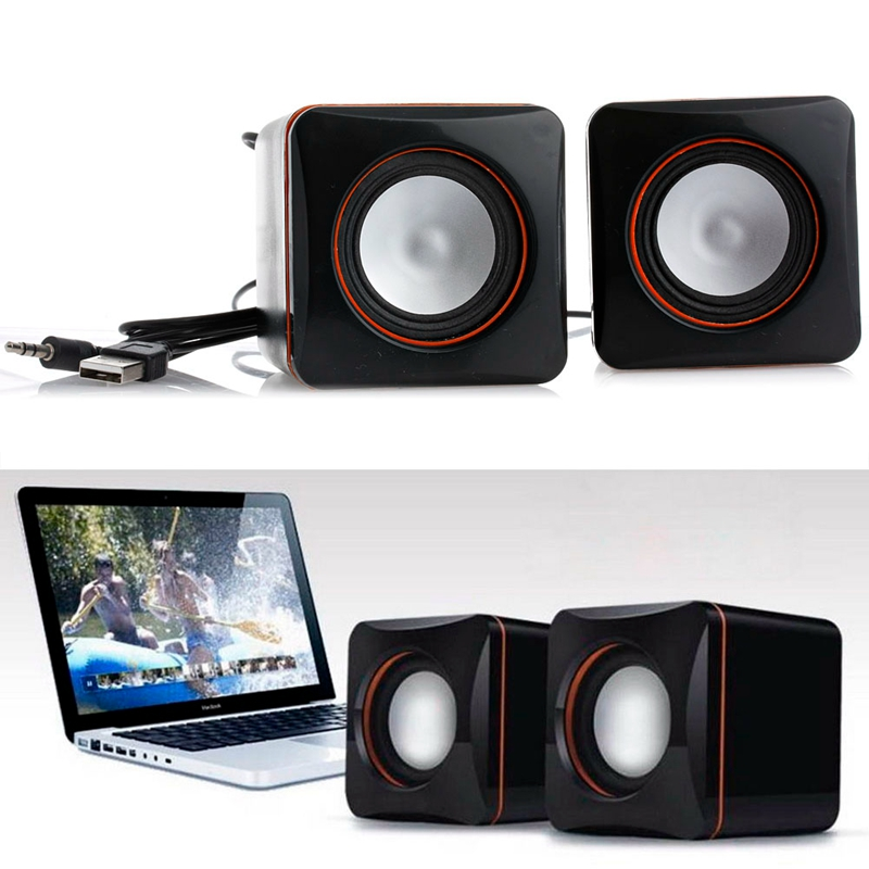 Hot Selling New Portable Mini USB Audio Music Player Speaker For iPhone For MP3 Laptop PC