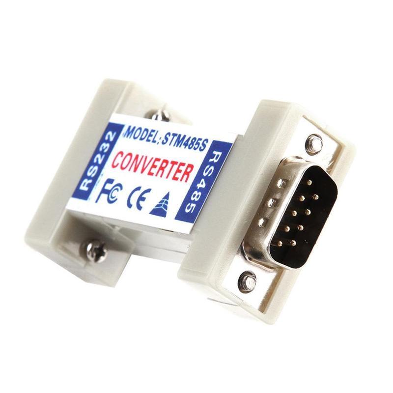 1 шт. пассивный Rs232 к Rs485 Трансвертер безопасности защиты изделий двухсторонний 232 к 485 передачи данных адаптер