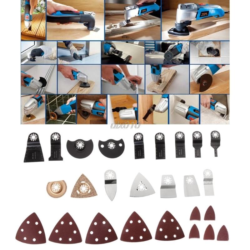 66 Pcs/Set Oscillating Multi Tool Saw Blades For Fein Multimaster Dremel Bosch Makita G18 Drop ship