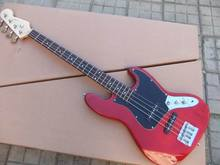 Wholesale New Arrival 4 String Electric Bass Guitar In Red 100928