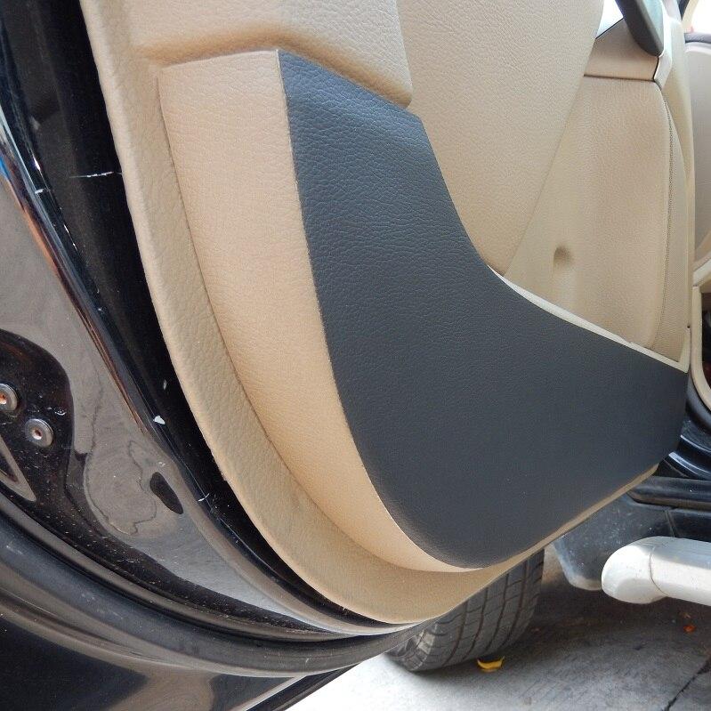 porte protecteur c t bord protection anti coup de pied en cuir couvre pour volvo xc90. Black Bedroom Furniture Sets. Home Design Ideas