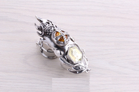 High quality cosplay jewelry HITMAN REBORN turn rings anime cartoon alloy ring kid's best gift free shipping