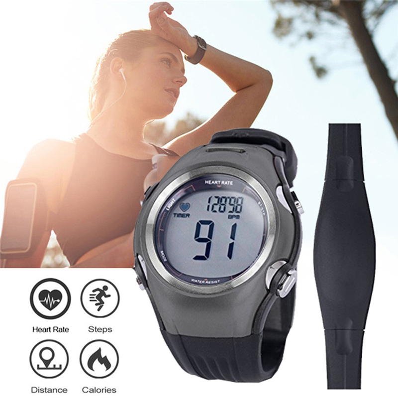 Men's Wireless Polar Watch Heart Rate Monitor 2