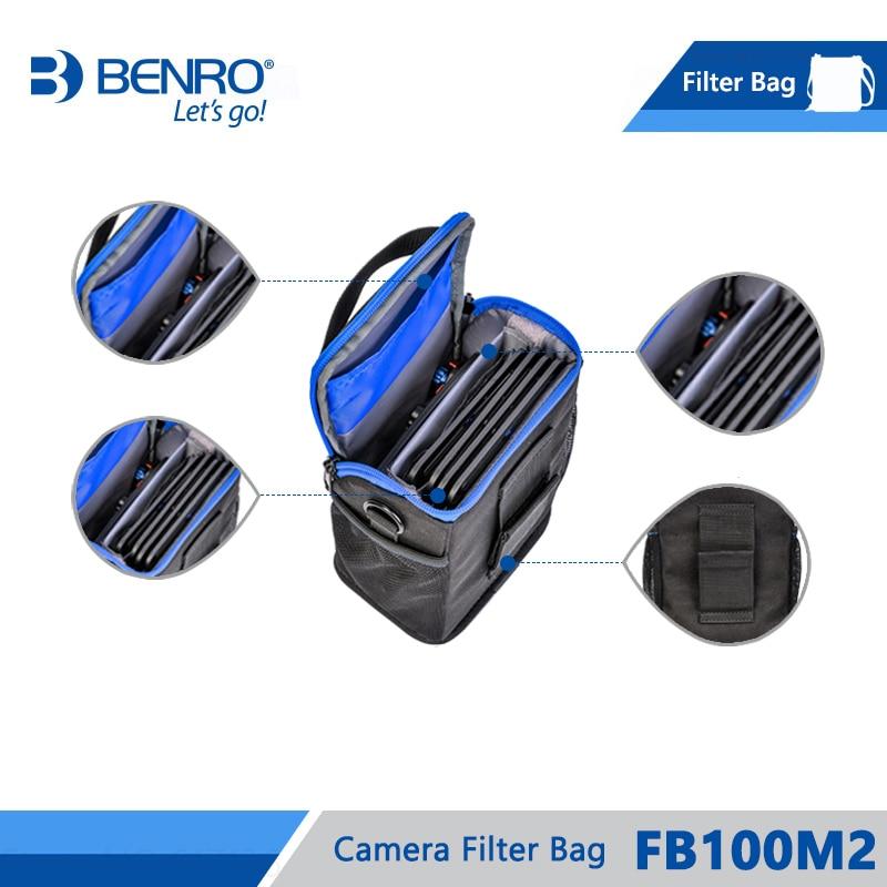 Image 4 - Benro FB100M2 Filter Bag Storage Filters holder For 4pcs Square  Filters 3pcs Round Filters Nylon Bag Frss Shippingbenro bagbag  forholder for