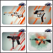 Mairuige CS GO Gun Custom  Hot Selling High Definition Printing Gaming Rubber  Mouse Pad Cheap Computer Desk Free Shipping